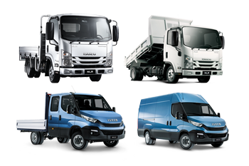Trucks, Vans, Cab Chassis